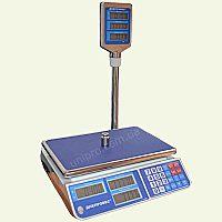 Ваги торгові електронні Jadever F902H-СL